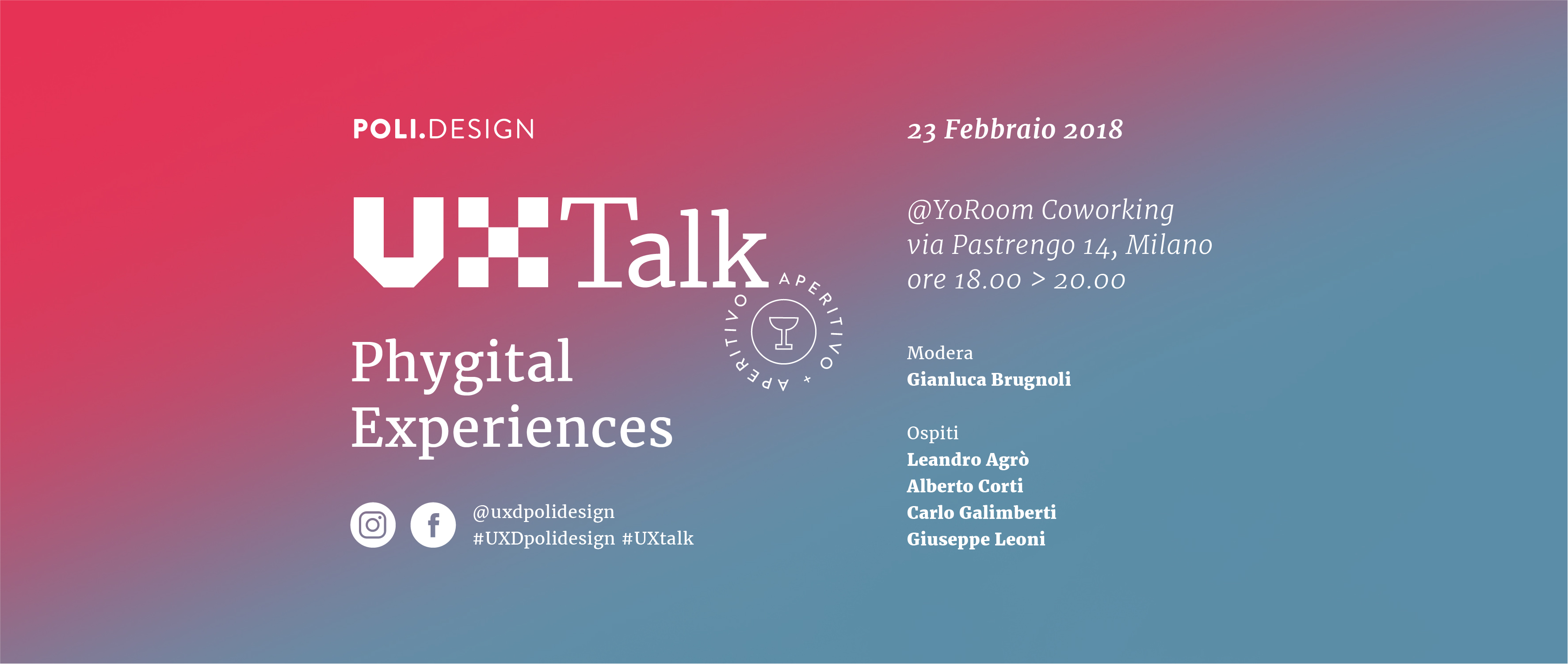 UX Talk: Phygital Experiences – February, 23rd