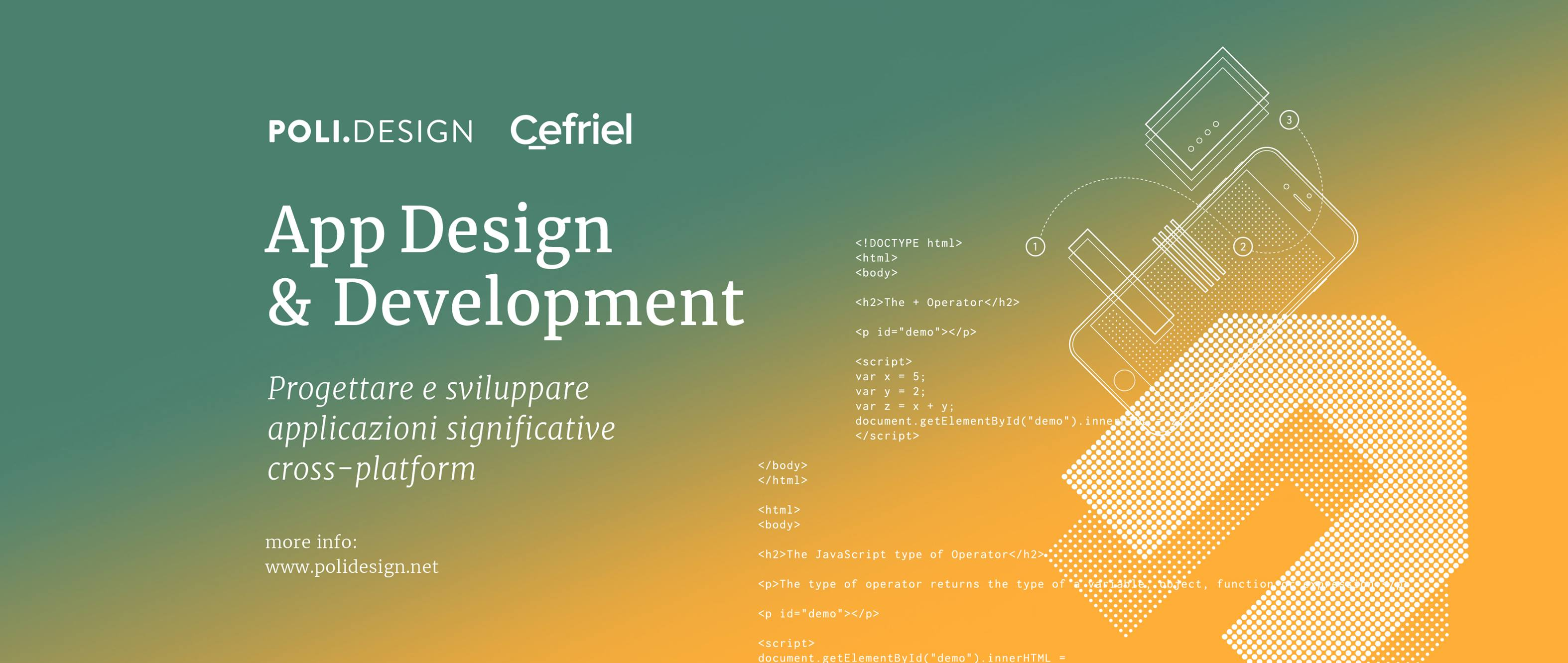 App Design and Development – Higher Education Course starting on October, 2018